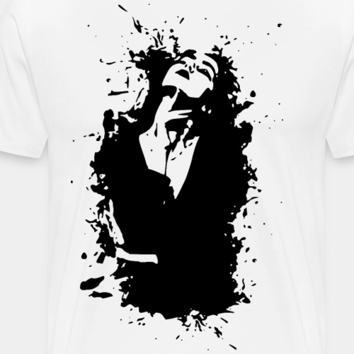 2reborn artwork kunst frau woman fashion beauty re - Men's Premium T-Shirt