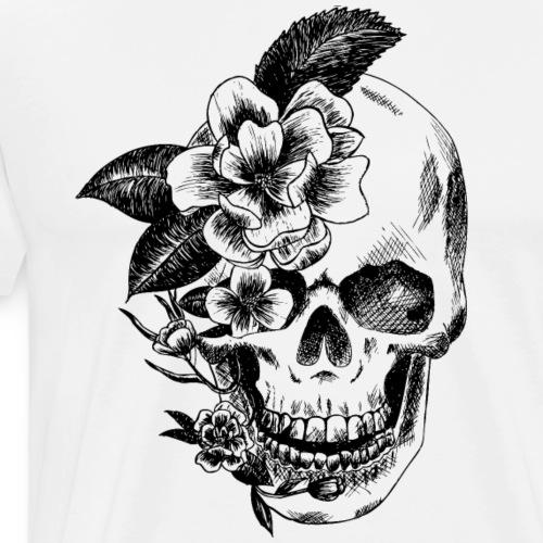 crane et fleurs - T-shirt Premium Homme