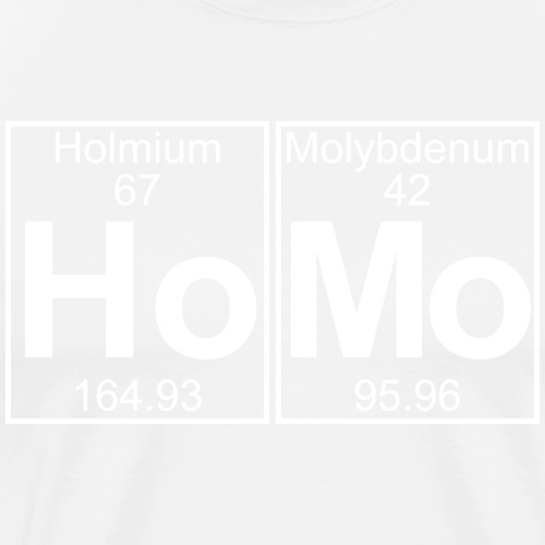 Ho- (homo) - Full - Men's Premium T-Shirt