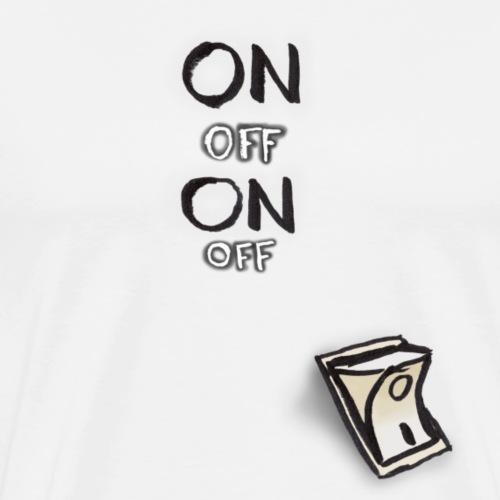 ON OFF Schalter - Männer Premium T-Shirt