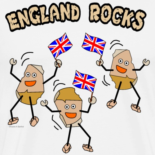 England Rocks - Men's Premium T-Shirt