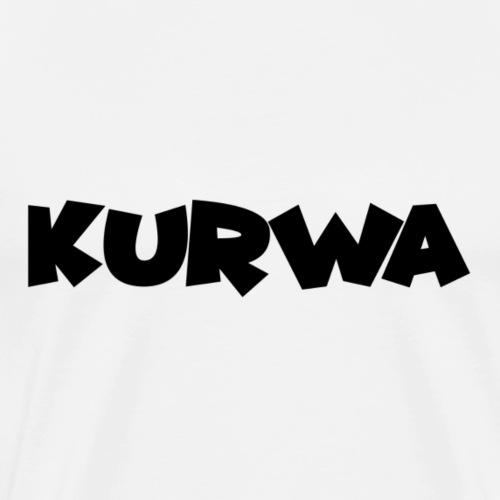 Kurwa Blackedition - Männer Premium T-Shirt