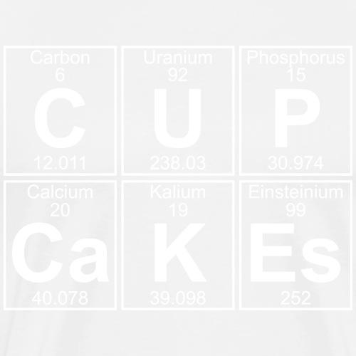 C-U-P-Ca-K-Es (cupcakes) - Full - Men's Premium T-Shirt