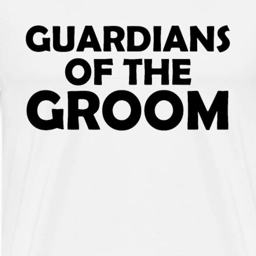 Wächter des Bräutigam JGA Junggesellenabschied - Männer Premium T-Shirt