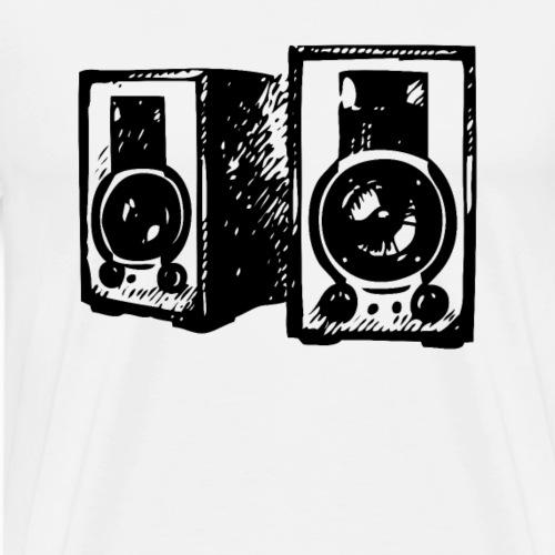 DJ Symbol Musik Musiker Musikboxen - Männer Premium T-Shirt