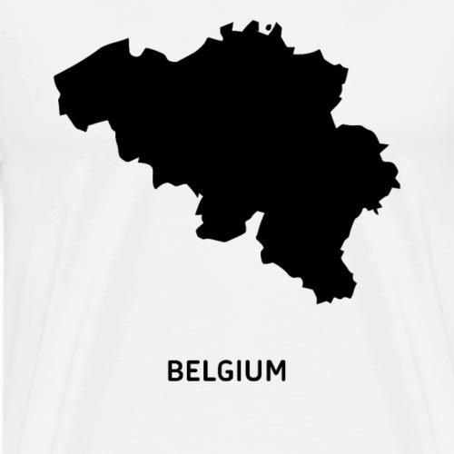 Europa Belien Beligier Land Staat Heimat - Männer Premium T-Shirt