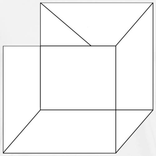 Cube - T-shirt Premium Homme