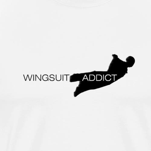 Parachutiste wingsuit - T-shirt Premium Homme