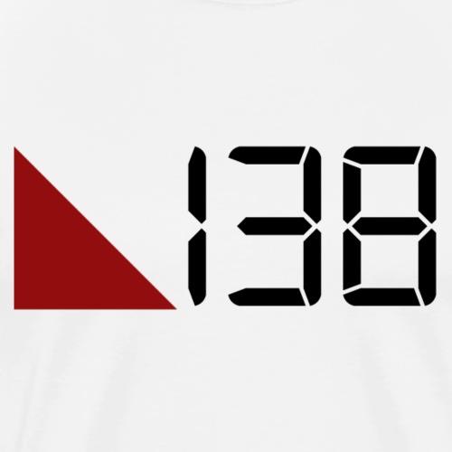 138 (Black) - Premium-T-shirt herr