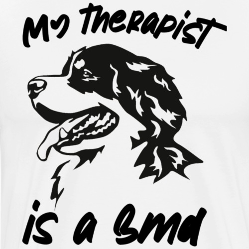 Bernese mountain dog - Mannen Premium T-shirt