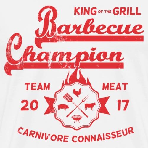 Barbecue-Champion Shirt - King of the Grill T-Shir - Männer Premium T-Shirt