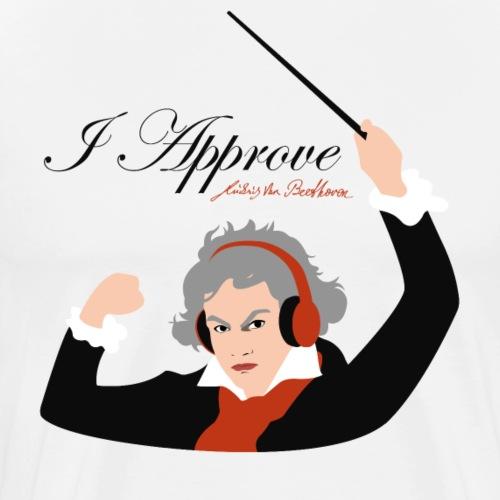 I Approve (Black) - Premium-T-shirt herr