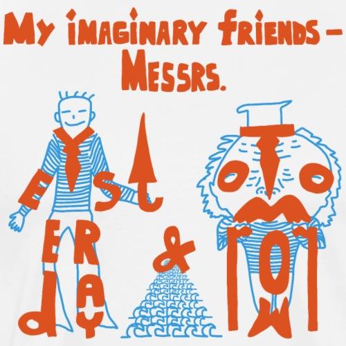 My imaginary friends - Männer Premium T-Shirt