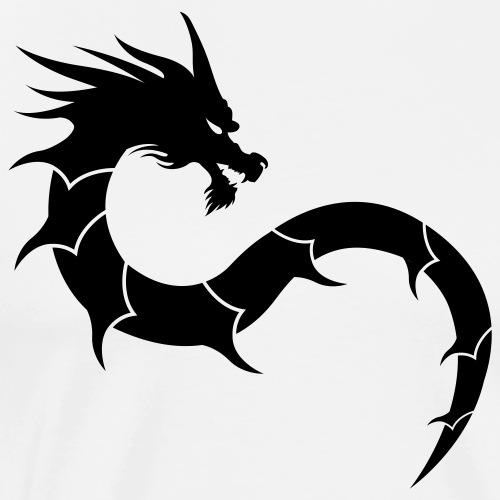 shaolin dragon 2 - T-shirt Premium Homme