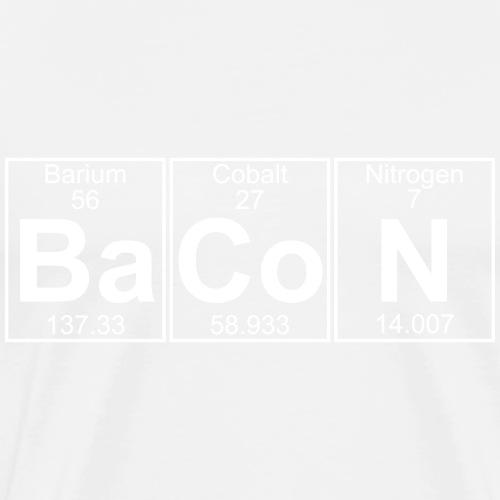 Ba-Co-N (bacon) - Full - Men's Premium T-Shirt