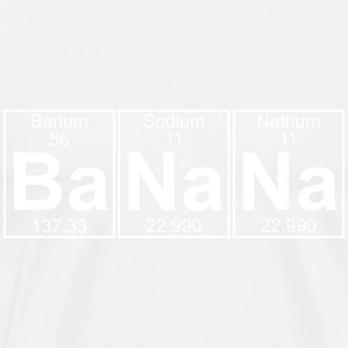 Ba-Na-Na (banana) - Full - Men's Premium T-Shirt