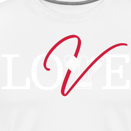 Love Moto Guzzi - Maglietta Premium da uomo