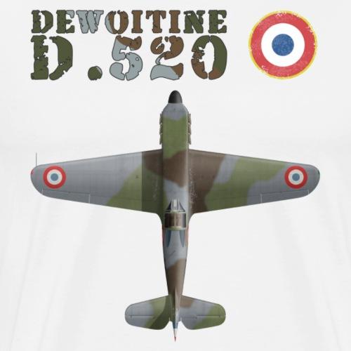 Dewoitine D.520 top - Men's Premium T-Shirt