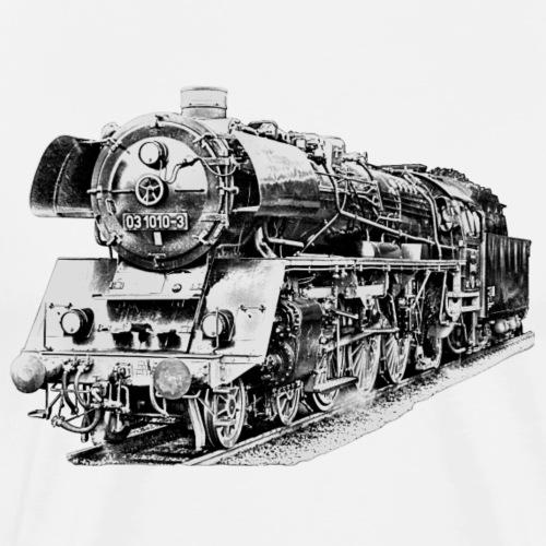 Dampflokomotive - Männer Premium T-Shirt