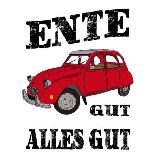 2 CV - ENTE GUT = ALLES GUT - Citroen 2CV - Männer Premium T-Shirt