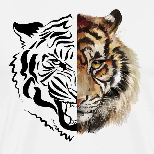 Tigre dessin | Tigre couleurs