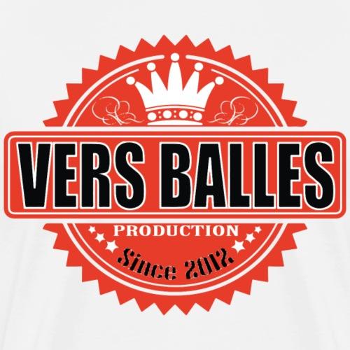 T-Shirt VERS BALLES MUSIC #4 - Homme (blanc) - T-shirt Premium Homme