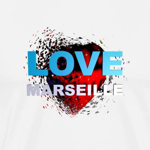 LOVE MARSEILLE - T-shirt Premium Homme