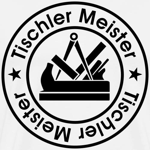 Schreiner 8 Meister Zunftzeichen logo - Männer Premium T-Shirt