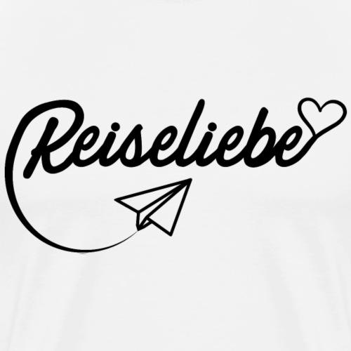 Reiseliebe - Männer Premium T-Shirt