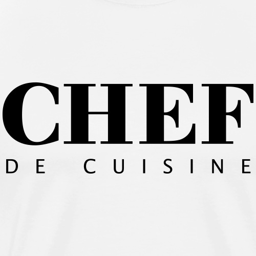 BOSS de cuisine - logotype - Men's Premium T-Shirt