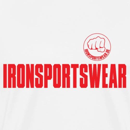 Kraftsport Fitness Muskeln Hanteln Gym Geschenk - Männer Premium T-Shirt