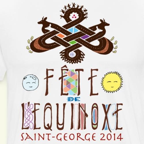 T equinoxe - Men's Premium T-Shirt