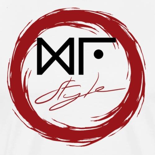 Logo Officiel Gu Style Noir - T-shirt Premium Homme