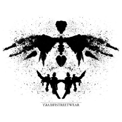 Rorschach_black - Männer Premium T-Shirt