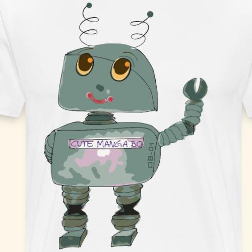 cosplay cute robot - by irk - Männer Premium T-Shirt