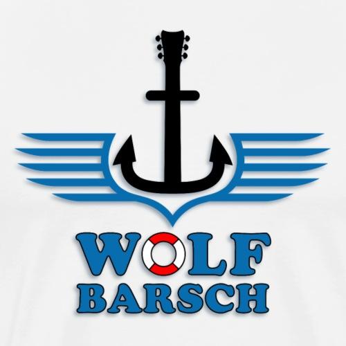 wolf_barsch_logo_072015acoustic - Männer Premium T-Shirt