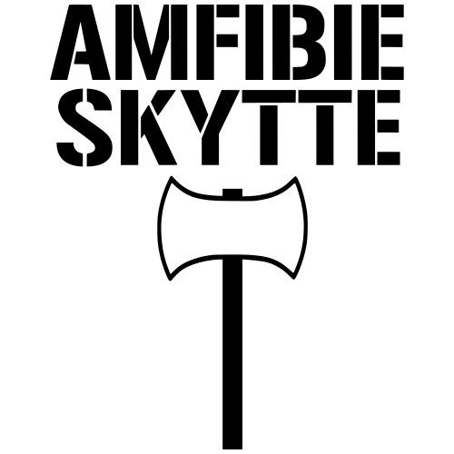Amfibieskytte - Premium-T-shirt herr