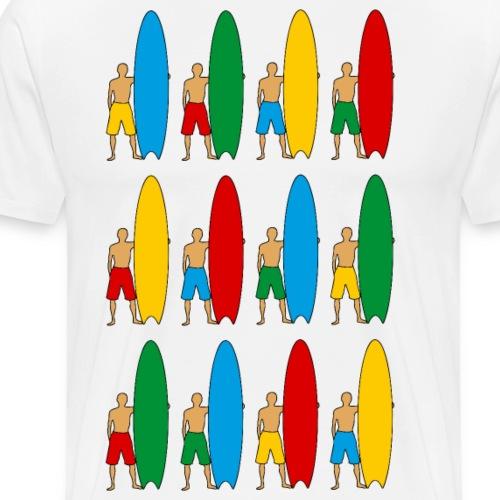 Surfing - Men's Premium T-Shirt