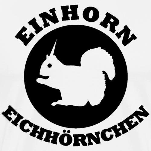 Einhorn Eichhörnchen - Männer Premium T-Shirt