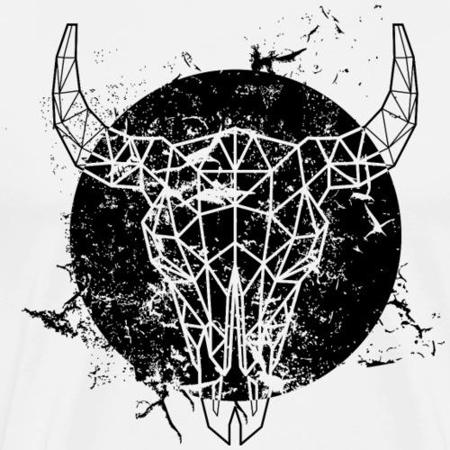 Grunge Stier - Männer Premium T-Shirt