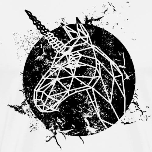 Grunge Einhorn - Männer Premium T-Shirt