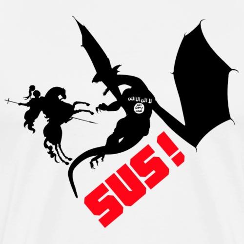 SUS2 black png - T-shirt Premium Homme