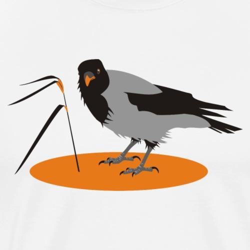 Varis - Miesten premium t-paita