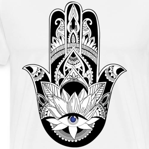 Sehr Stylisches Hand of Fatima Design - Männer Premium T-Shirt
