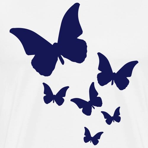 Butterfly cloud - Men's Premium T-Shirt