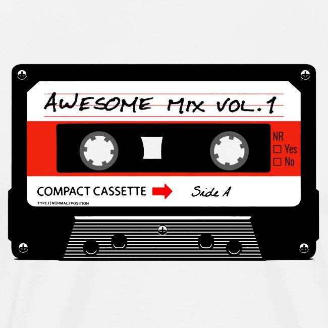 Old school audio cassette