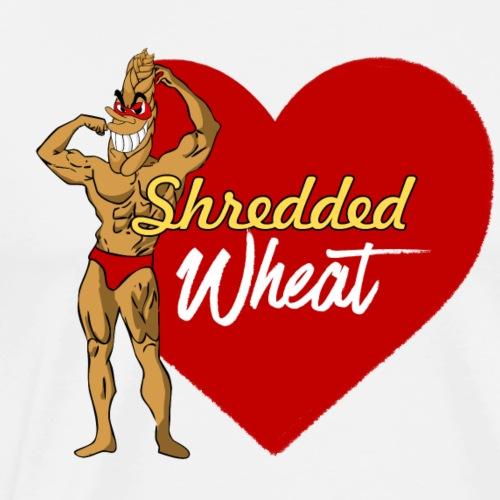Shredded Wheat - Men's Premium T-Shirt