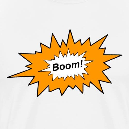 Explosion - Männer Premium T-Shirt