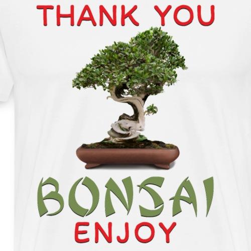 Dziękuję Ci Bonsai - Koszulka męska Premium