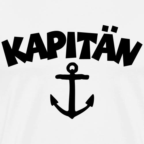 Kapitän Anker Segler Segeln Segel - Männer Premium T-Shirt